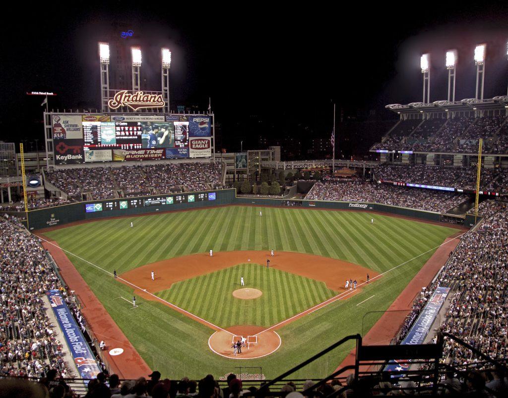 Cleveland Indians Baseball Stadium Photo