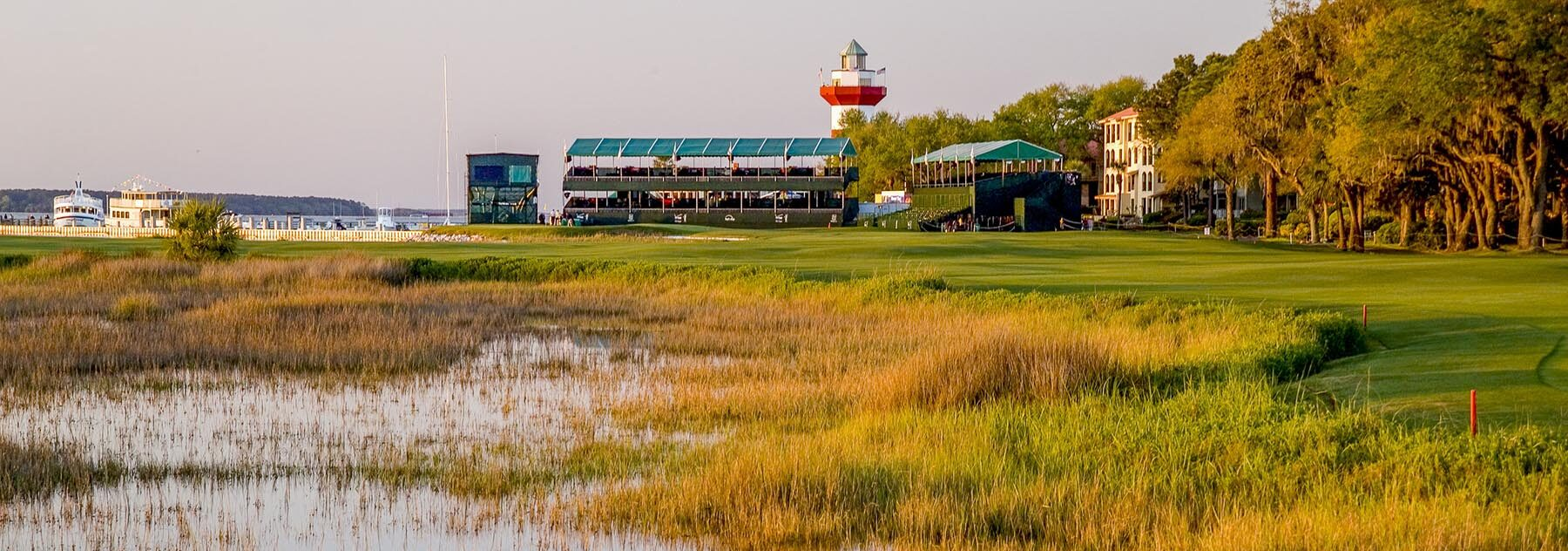 Harbour Town Golf Hole 18 1210 by Phil Reich
