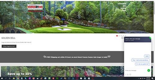 JivoChat Live Chat Jivo Chat on StadiumArt.com